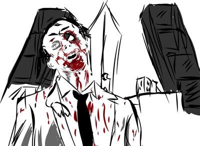 zombie en madrid