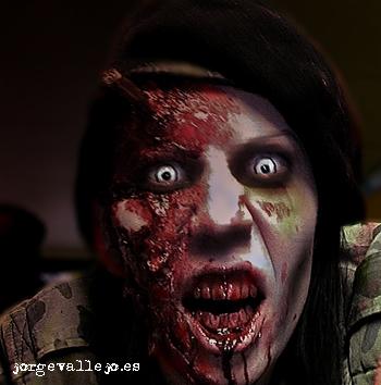 zombie de la marcha zombie retocado por jorge vallejo