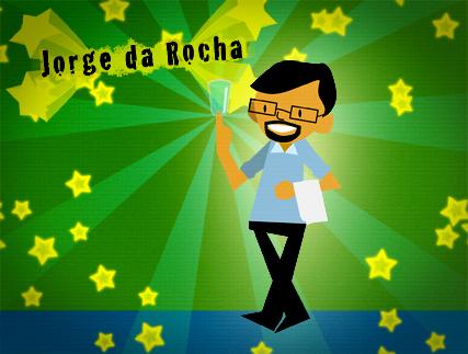 Jorge da Rocha ilustración de Jorge Vallejo