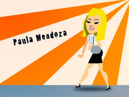 Paula Mendoza ilustración de Jorge Vallejo