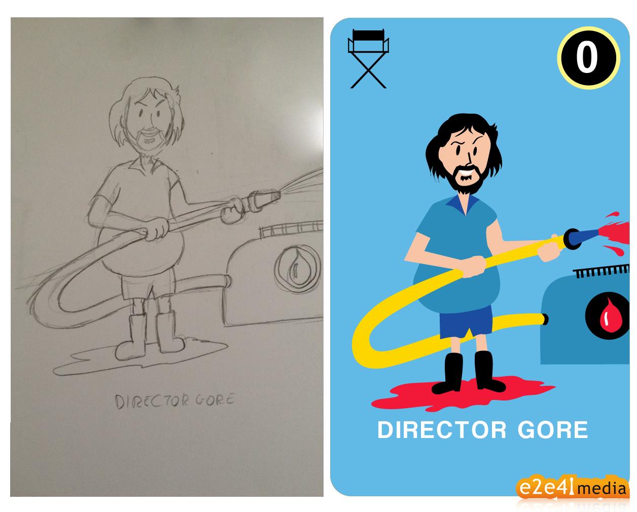 Cine Quiz Ilustraciones