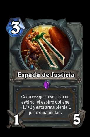 espada de la justicia