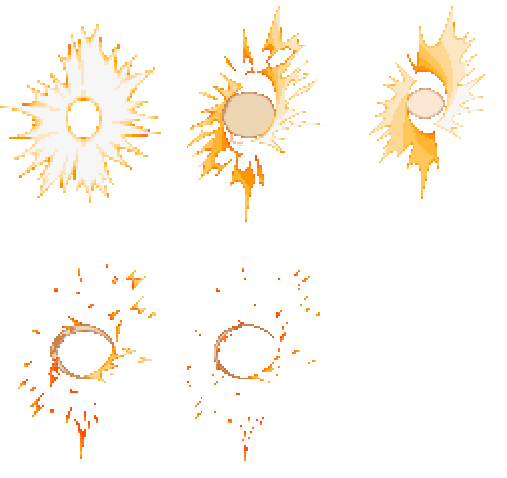 golpea hit sprite sheet